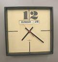 George Nelson Nelson clock Howard Miller NELSON CLOCK calendar