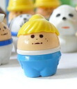 Sth American egg Thomas littletykes white blonde ponytail light blue pants