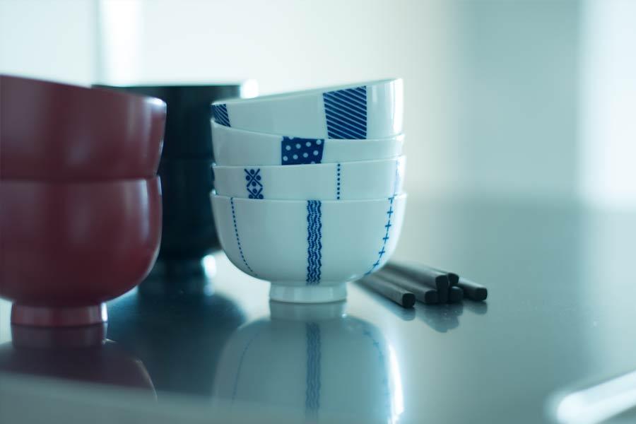 印判 茶碗 東屋