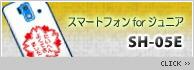スマートフォン for ジュニア SH-05E