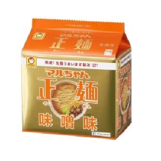 東洋水産マルちゃん正麺味噌味5食パック