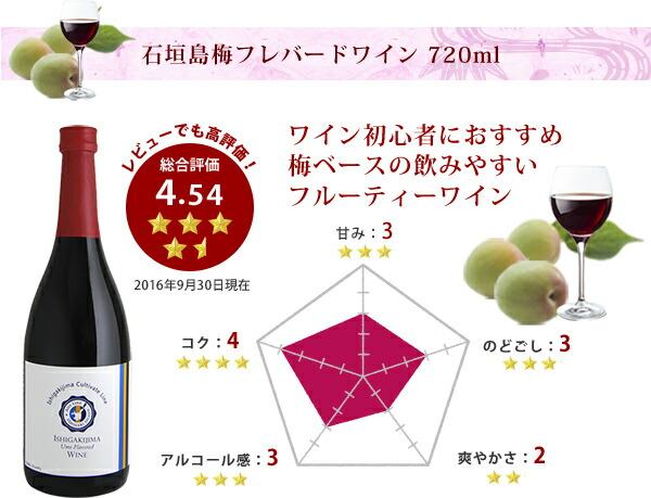 梅ベースのフルーティーワイン