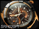 Seiko velatura kinetic direct drive mens watch IP black x Brown dial rose gold bezel black rubber belt SRH020P1