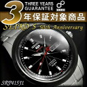 Seiko 100 anniversary commemorative limited model Seiko 5 sports mens automatic winding watch IP black bezel black x Silver Dial silver stainless steel belt SRP415J1
