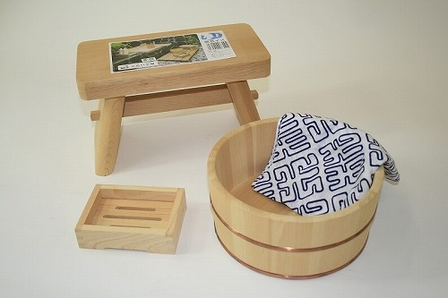 木製お風呂セット