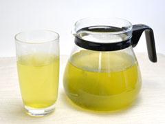 【韃靼そば緑茶】冷茶