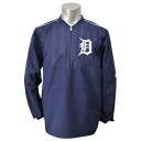 Majestic MLB Detroit Tigers 2015 On-Field Long Sleeve Training jacket (Navy)