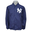 MLB New York Yankees Assistant Coach jacket (Navy) Mitchell &Ness