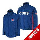 -1 MLB Chicago Cubs Authentic Triple Climate 3-In On-Field jacket (blue) Majestic