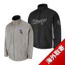 -1 MLB Chicago White Sox Authentic Triple Climate 3-In On-Field jacket (black / silver) Majestic