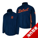 MLB Tigers jacket Navy / load majestic /Majestic (On-Field the Authentic Triple Climate-in-1 Jacket)
