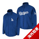 -1 MLB Los Angeles Dodgers Authentic Triple Climate 3-In On-Field jacket (blue) Majestic