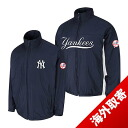 Majestic MLB New York Yankees Authentic Triple Climate-in-1 On-Field jacket (Navy)