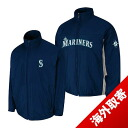 -1 MLB Seattle Mariners Authentic Triple Climate 3-In On-Field jacket (navy) Majestic