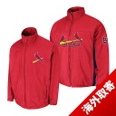 -1 MLB St. Louis Cardinals Authentic Triple Climate 3-In On-Field jacket (red) Majestic