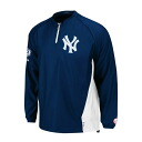 Majestic MLB Yankees # 2 Derek Jeter Final Season Gamer jacket (home)