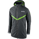 NFL Seattle Seahawks Full Zip Down Parka jacket 2014 (charcoal) Nike