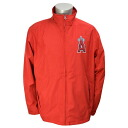 Majestic MLB Los Angeles Angels Authentic Wind Jacket (red)