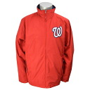 Majestic MLB Washington nationals Authentic Wind Jacket (red)