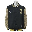 Majestic MLB San Diego Padres freeseletterman jacket (black)