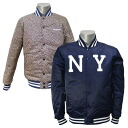 Majestic MLB New York Mets reversible satin jacket (Navy)