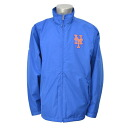 Majestic MLB New York Mets Authentic Wind Jacket (blue)