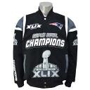 NFL New England Patriots Super Bowl XLIX Champion Hot Market jacket (black) G-III