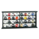 NFL 32 Piece Wood Display 세트 Riddell