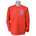 Majestic MLB Boston Red Sox 2015 On-Field Long Sleeve Training jacket (Navy)