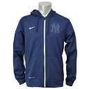 MLB New York Yankees Flash FZ KO Hoodie 1.5 (Navy) Nike