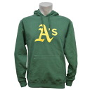 Majestic MLB Oakland Athletics Scoring Position Hoodie (green)