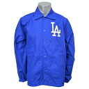 MLB Los Angeles Dodgers Assistant Coach jacket (blue) Mitchell &Ness