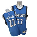 NBA Timberwolves # 22 Andrew Wiggins 2014-15 New Swingman Jersey (road) Adidas
