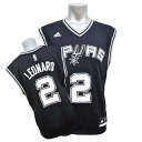 Adidas NBA Spurs # 2 Kawai-Leonard Revolution Replica Jersey (road)