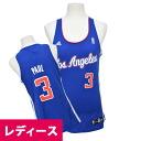 Adidas NBA Clippers # 3 Chris Paul Women's Replica Jersey (alternate)