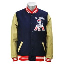 NFL New England Patriots Authentic Wool jacket Mitchell&Ness