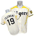 Hanshin Tigers # 19 Fujinami Shintaro uniforms 2015 replicacarajarge (yellow) YM / Mizuno