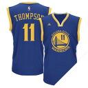 NBA warriors Clay Thompson uniform load adidas /Adidas (Revolution Replica Jersey)