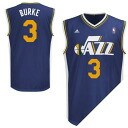 NBA Jazz tray and Burke uniform load adidas /Adidas (Revolution Replica Jersey)