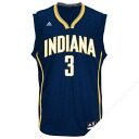 NBA Indiana Pacers George Hill uniform load adidas /Adidas (Revolution Replica Jersey).