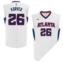 NBA hawks Kyle and Cobar uniforms home adidas /Adidas (Revolution Replica Jersey)