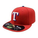 MLB Texas Rangers Authentic Performance On-Field cap (オルタネート 2009) New Era