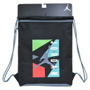 Nike Jordan /NIKE JORDAN suck black / blue (JUMPMAN AIR GYMSACK)