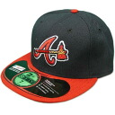 MLB Atlanta Braves Authentic Performance On-Field cap (オルタネート) New Era