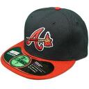 MLB Atlanta Braves Authentic Performance On-Field cap (オルタネート) New Era