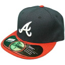 New Era MLB Atlanta Braves Authentic Performance On-Field Cap (home)