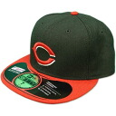 New Era MLB Cincinnati Reds Authentic Performance On-Field Cap (alternate)