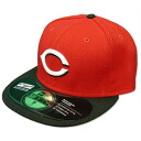 New Era MLB Cincinnati Reds Authentic Performance On-Field Cap (road)