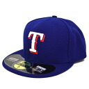 MLB Texas Rangers Authentic Performance On-Field cap (game) New Era