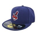 MLB Cleveland Indians Authentic Performance On-Field cap (オルタネート 2) New Era